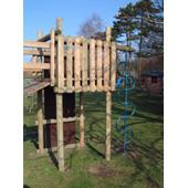 Langley® Play Tower from our children's Wooden Climbing Frames range