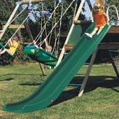 TP Green Rapide Slide body (TP) from our children's Climbing Frames range