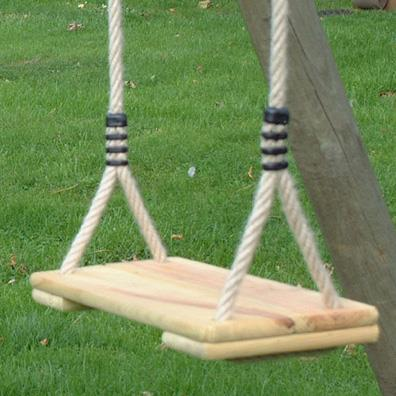 Langley Wooden Swing Seat from our children's Garden Swings range