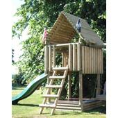 Langley® Play Fort from our children's Wooden Climbing Frames range