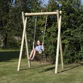 Langley Single Swing Frame from our children's Childrens Garden Swings range