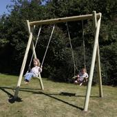 Langley Double Swing Frame from our children's Childrens Garden Swings range
