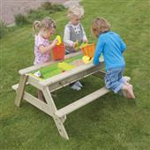 TP Deluxe Picnic Table Sandpit from our children's Childrens Furniture range