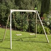 TP Forest Double Swing 2 from our children's Childrens Garden Swings range